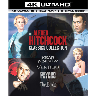 ALFRED HITCHCOCK CLASSICS COLLECTION (ULTRA HD BLU RAY)