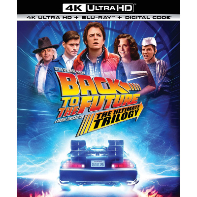 BACK TO THE FUTURE ULTIMATE TRILOGY (ULTRA HD BLU RAY)