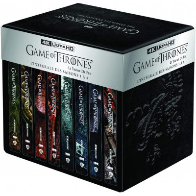 GAME OF THRONES INTEGRALE (ULTRA HD BLU RAY)