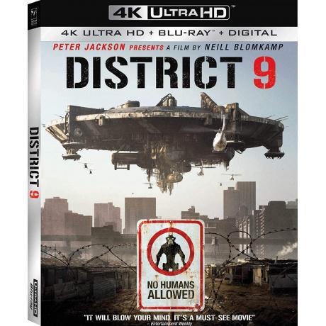 DISTRICT 9 (ULTRA HD BLU RAY) / US