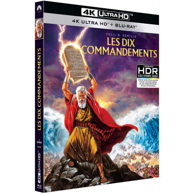 DIX COMMANDEMENTS (ULTRA HD BLU RAY)