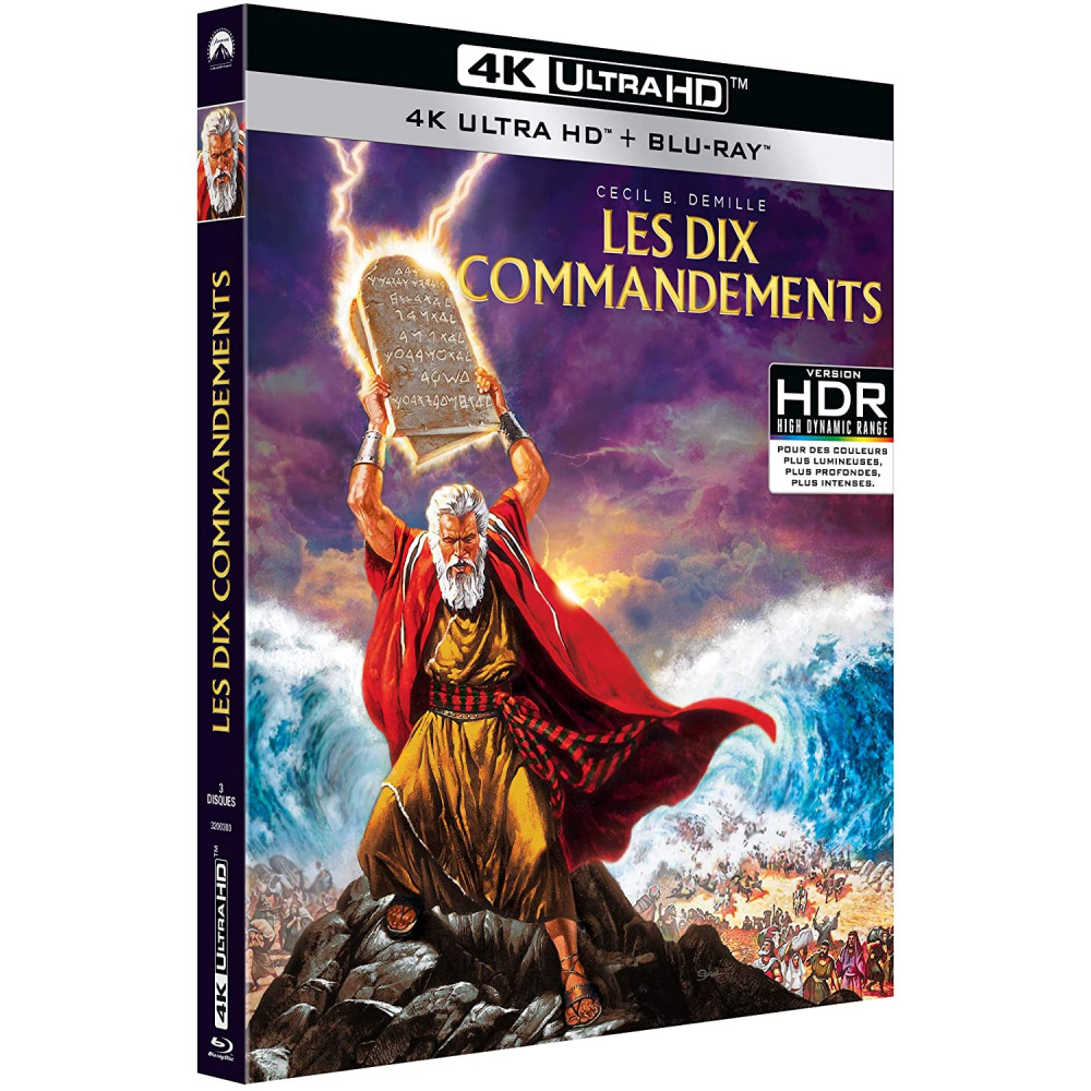 DIX COMMANDEMENTS (ULTRA HD BLU RAY)