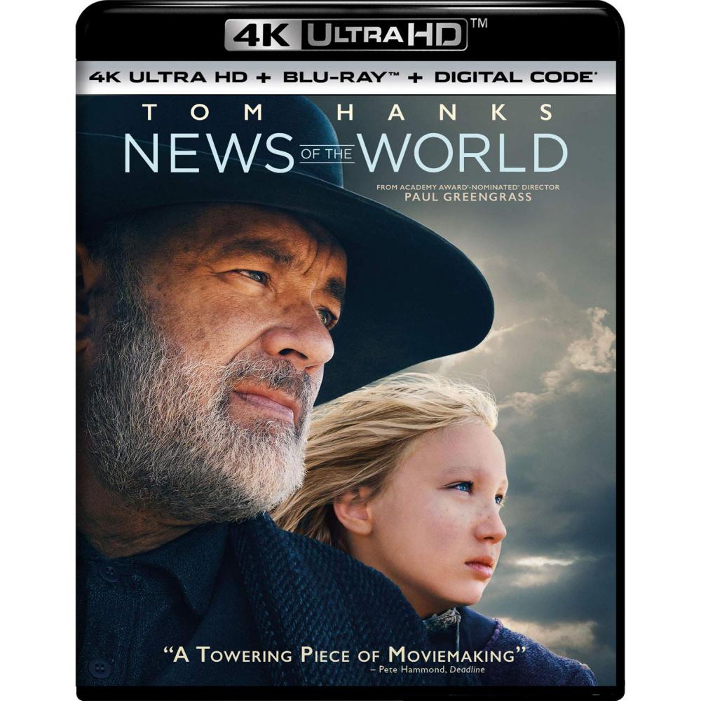 NEWS OF THE WORLD (ULTRA HD BLU RAY)