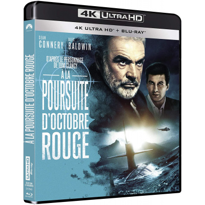 A LA POURSUITE D'OCTOBRE ROUGE (ULTRA HD BLU RAY)