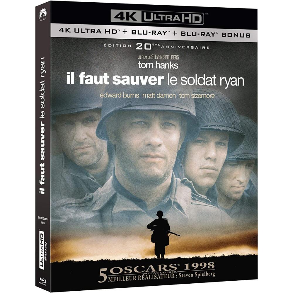 IL FAUT SAUVER LE SOLDAT RYAN (ULTRA HD BLU RAY)