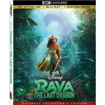 RAYA AND THE LAST DRAGON (ULTRA HD BLU RAY)
