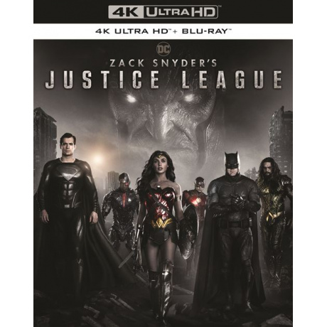 ZACK SNYDER'S JUSTICE LEAGUE (ULTRA HD BLU RAY)