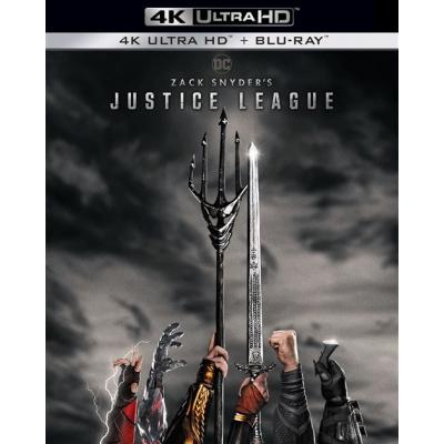 ZACK SNYDER'S JUSTICE LEAGUE (ULTRA HD BLU RAY) SBK