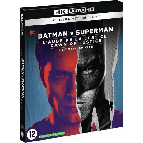 BATMAN V SUPERMAN ULTIMATE EDITION (ULTRA HD BLU RAY)