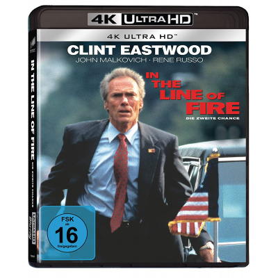 IN THE LINE OF FIRE (ULTRA HD BLU RAY)