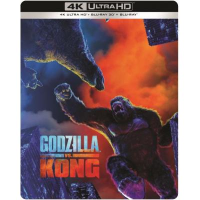 GODZILLA VS. KONG (ULTRA HD BLU RAY) + 3D