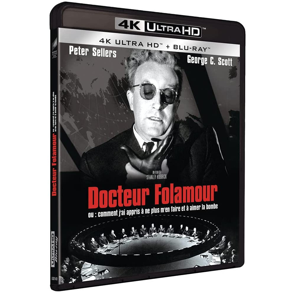 DOCTEUR FOLAMOUR (ULTRA HD BLU RAY)