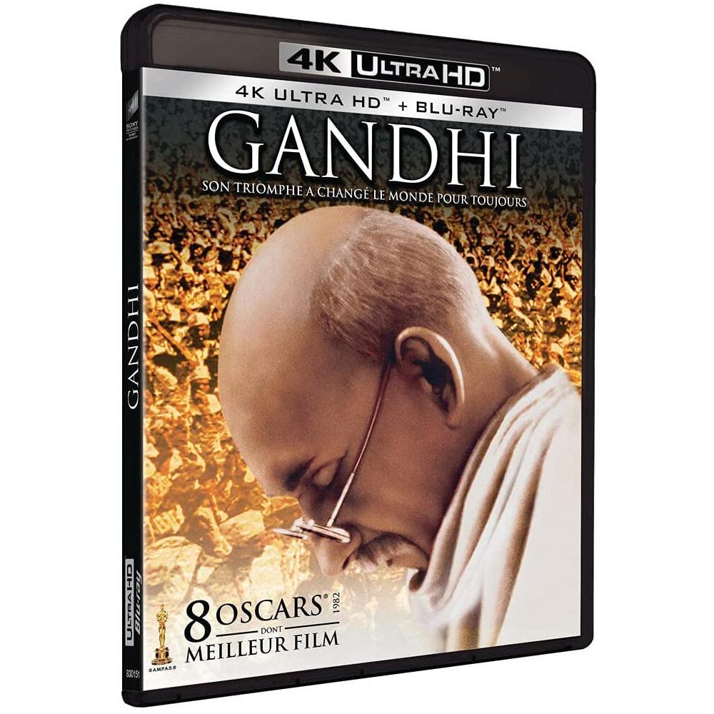 GANDHI (ULTRA HD BLU RAY)