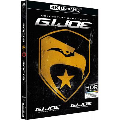 G.I. JOE 1&2 (ULTRA HD BLU RAY)