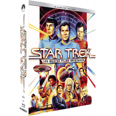 STAR TREK 4 FILMS ORIGINAUX (ULTRA HD BLU RAY)