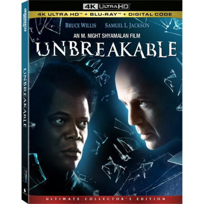UNBREAKABLE (ULTRA HD BLU RAY)