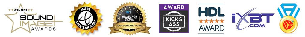 Zappiti One 4K HDR Awards