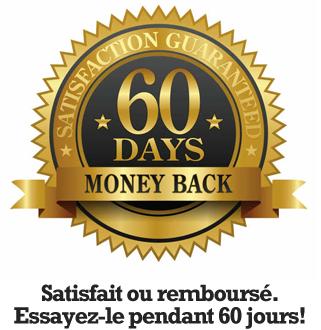 Satisfait ou remboursé 60 jours